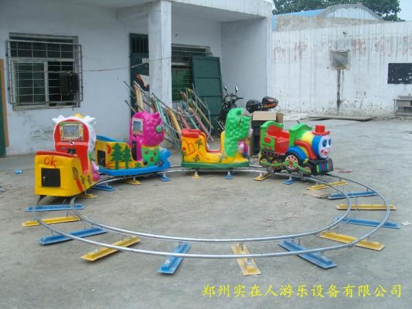 儿童轨道火车_儿童充气城堡|充气蹦蹦床|充气滑梯